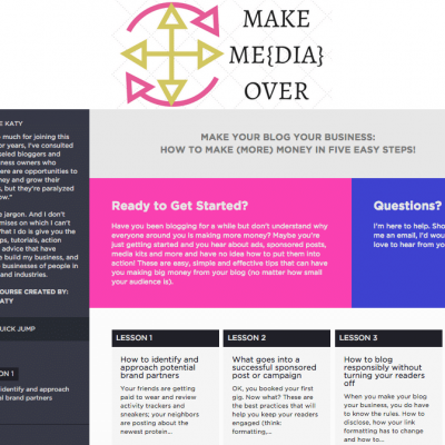 Make Me{dia} Over: Make Your Blog Your Business