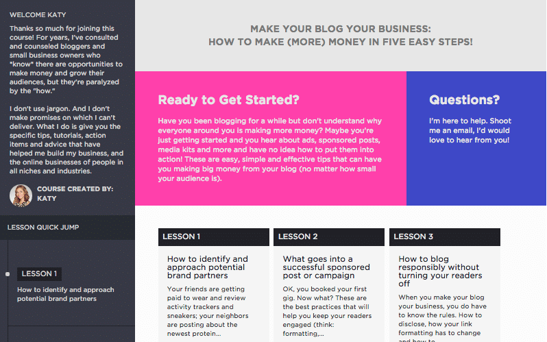 Make Your Blog Your Business