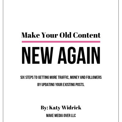 Make Your Old Content New Again